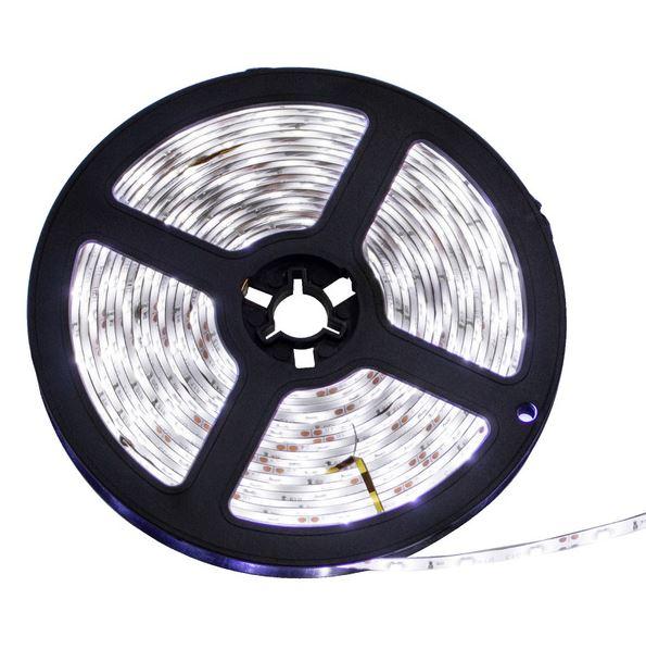 FITA DE LED ADESIVA BRANCA FRIA 5m 3528 IP65 (À Prova D'Água) c/FONTE