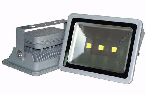 Kit 10 Refletores 150w Super Led Holofote Bivolt  Branco Morno - Quente