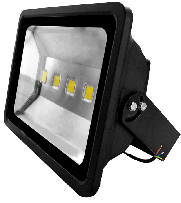 Kit 10 Refletores De Led Branco Frio 200w IP66 4 Chips Egg Yolk (Tecnologia Samsung)