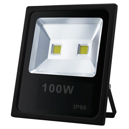 KIT 3 REFLETORES Branco Frio 100W 2 Chips EGG YOLK (Tecnologia Samsung)