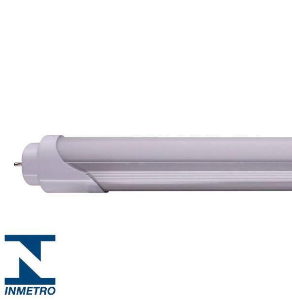 Kit 5 Lâmpadas LED Tubular HO Policarbonato 40w 240cm Branco Frio