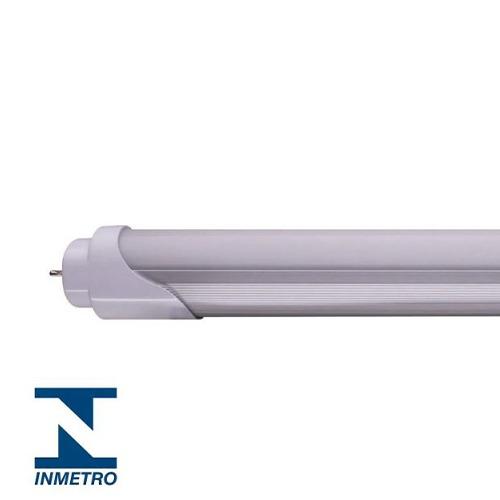 Kit 5 Lâmpadas LED Tubular HO Policarbonato 40W 240cm Branco Frio - Dois Lados