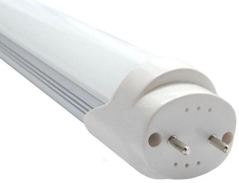 Kit 5 Lâmpadas Tubular de Led T8 18w 120cm Vidro Branco Frio 6500k (INMETRO)
