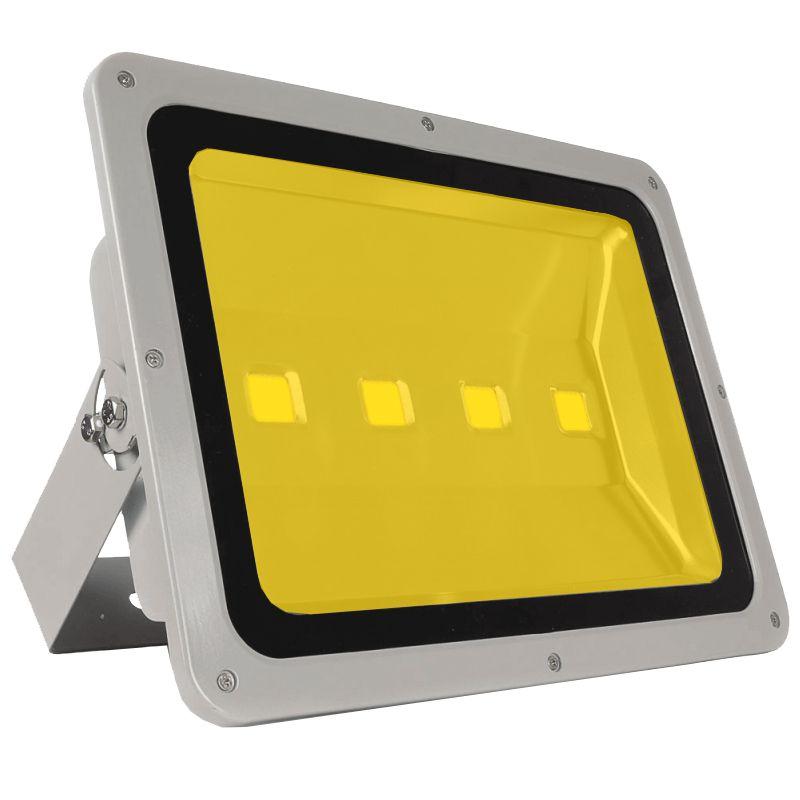 KIT 8 REFLETORES 200W SUPER LED HOLOFOTE BIVOLT BRANCO QUENTE / BRANCO MORNO / AMARELO 4 Chips egg yolk (TECNOLOGIA SAMSUNG)