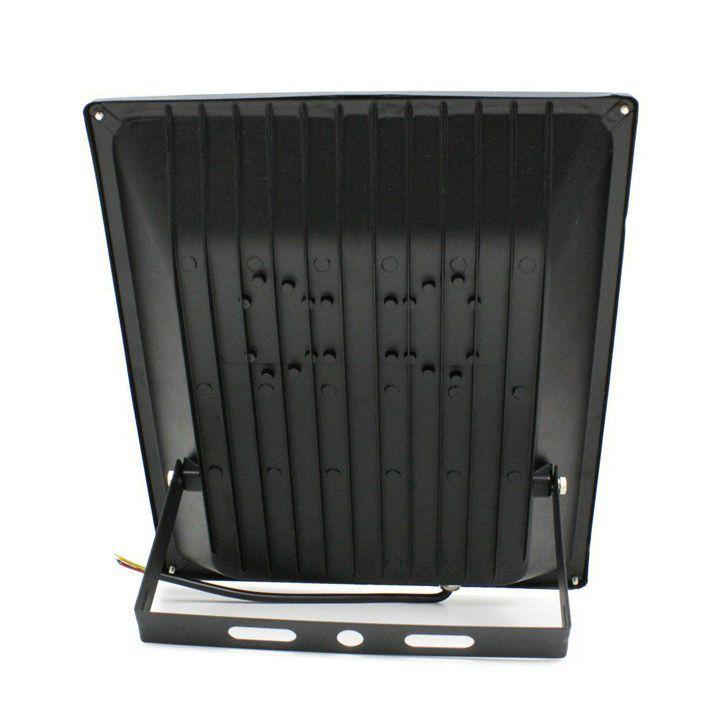 Kit com 8 Refletores Holofote Micro Led 100w Smd Rgb Colorido Bivolt