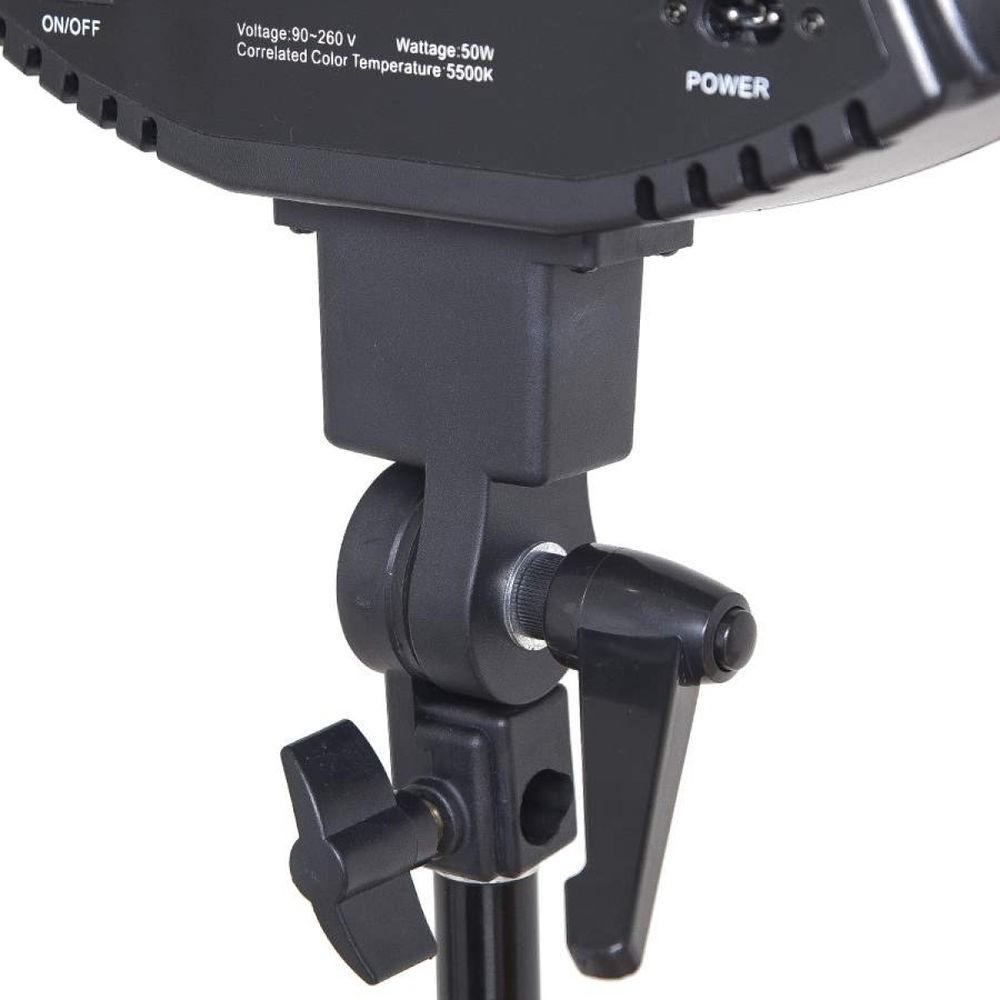 Kit Iluminador LED Ring Light 45cm de 18 polegadas com tripé 2mt Bicolor com espelho