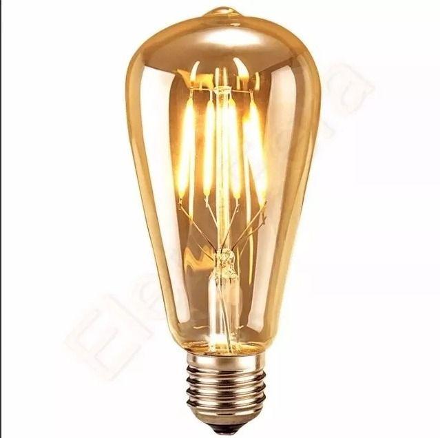 Lampada 4w St58/e27 - Bulbo - Filamento