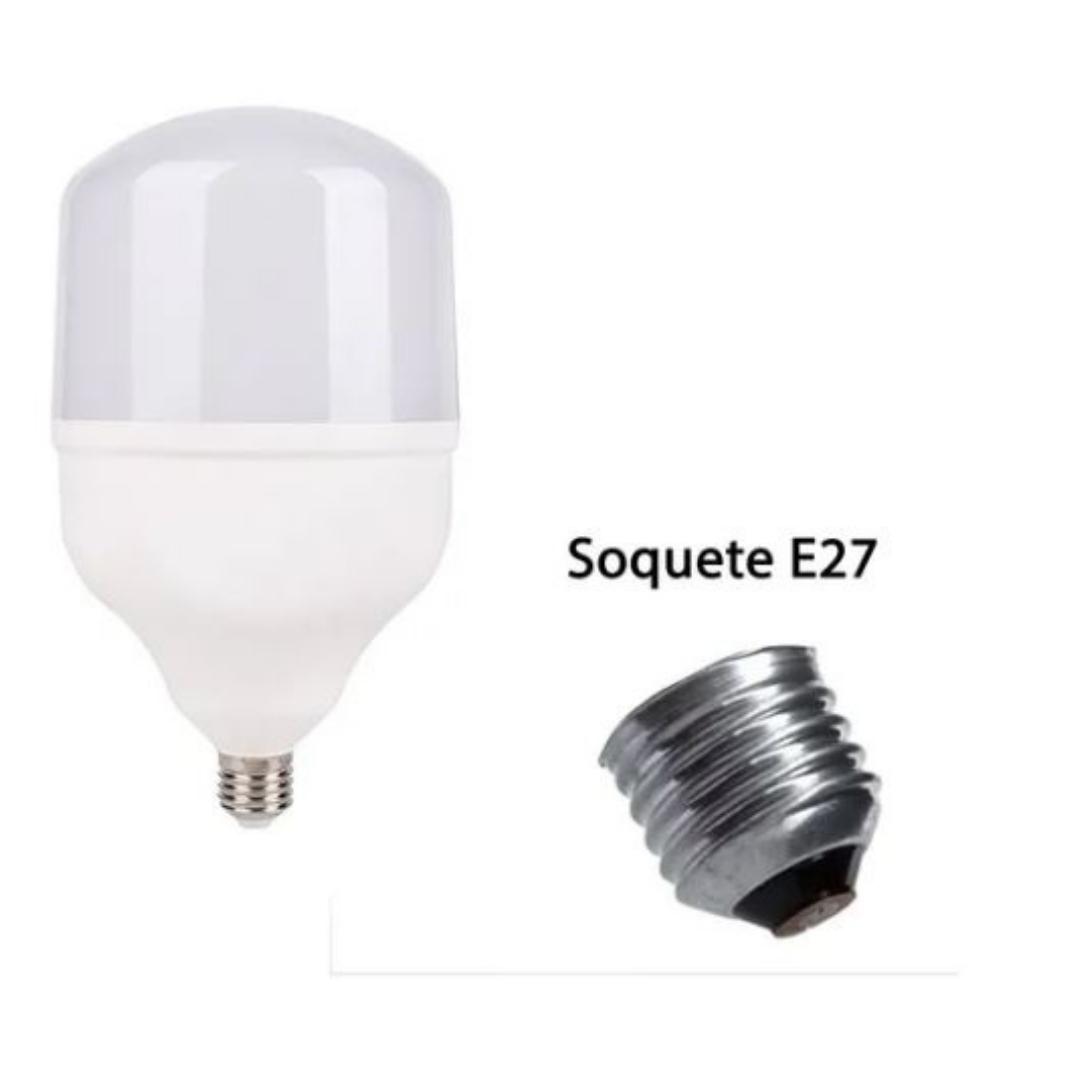 Lâmpada Alta Potência T120 Bulbo 50W Base E27 Bivolt