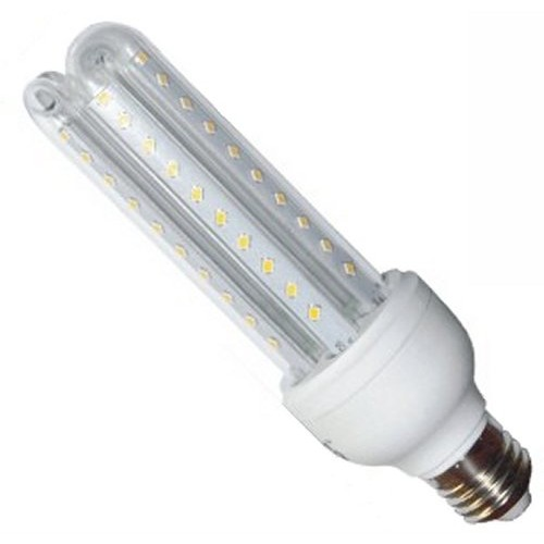 Lâmpada Eletrônica de Led 3U E27 12w Milho Super Led Branca