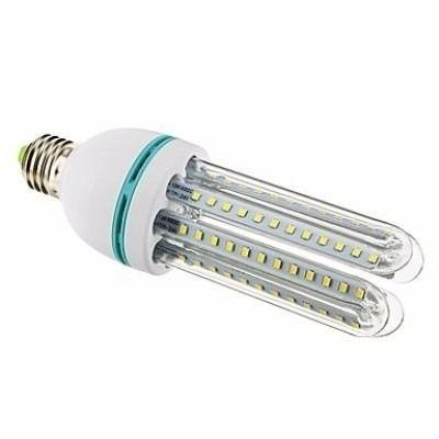 Lâmpada Eletrônica de Led 3U 24w E27 Milho Branco Frio Bi-Volt Econômica
