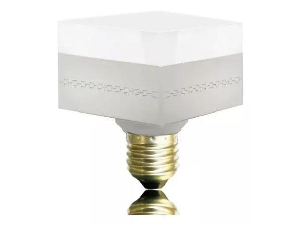 Lâmpada Led Bulbo Quadrada 45w Novo Design