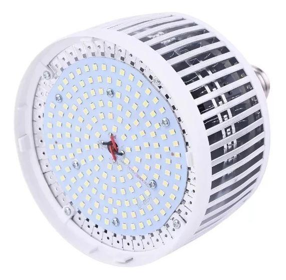 Lampada Led Bulbo Rosca 80w Branco Frio E27 Bivolt Galpão