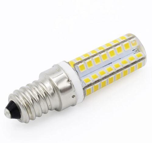 Lâmpada Vela Led Halopin E14 7W 6500K Branco Frio / Branco Quente Para Pendentes E Lustres