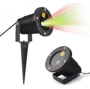 Laser LED Natalino 20w Outdoor Decoração Espeto Jardim N2