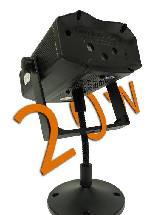 Laser Projetor Holográfico natalino 20w Stage Lighting Slim (Tecnologia Epson)