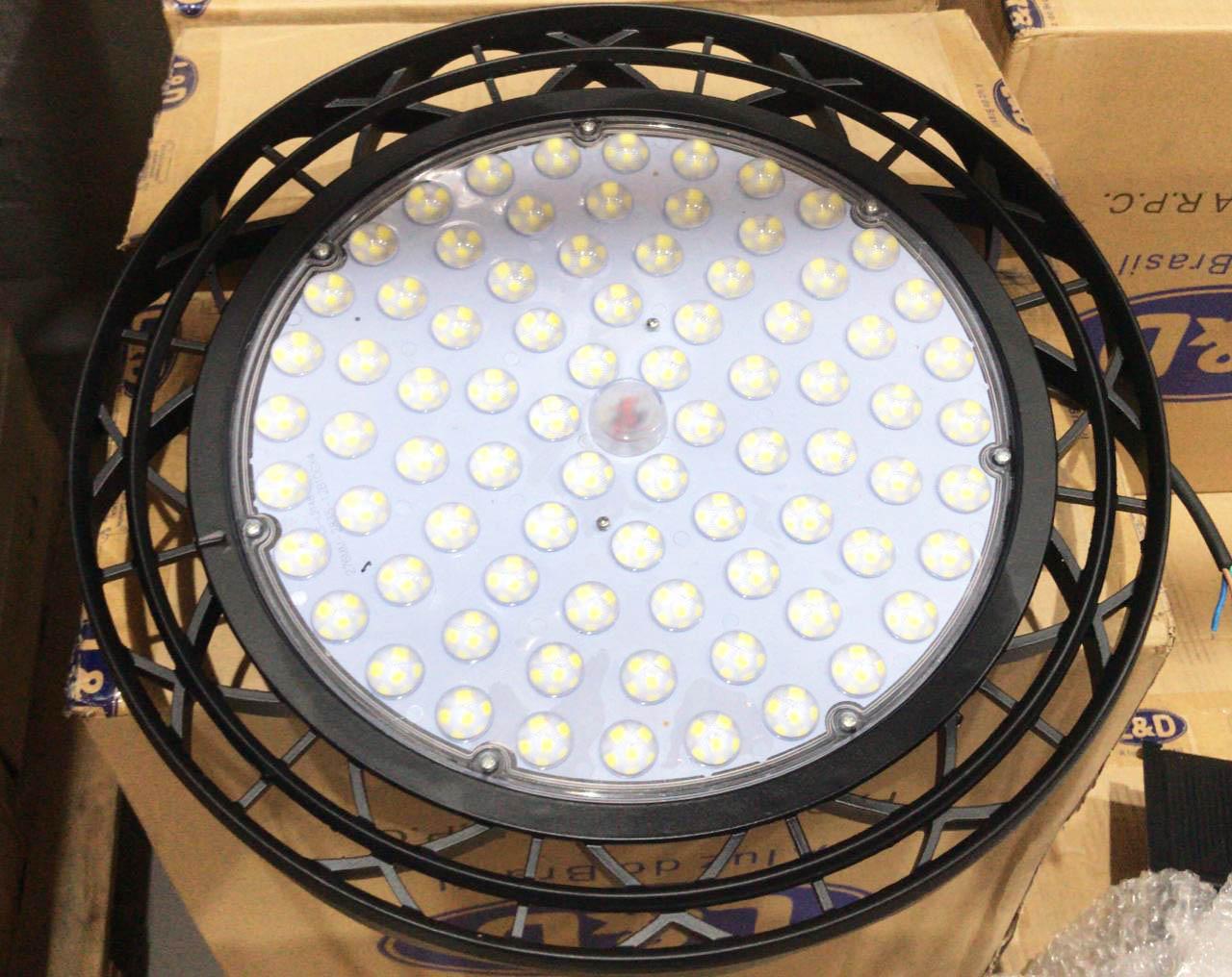 Luminária 100w Ufo Industrial Led High Bay