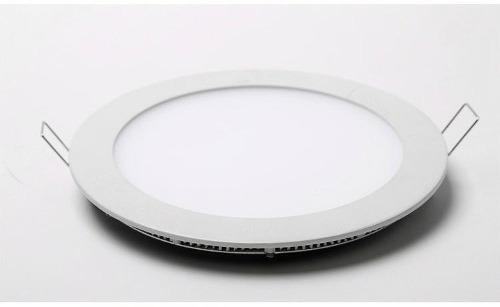 Plafon Led de Embutir Redondo 25w Branco Frio 6000K Tecnologia Siemens
