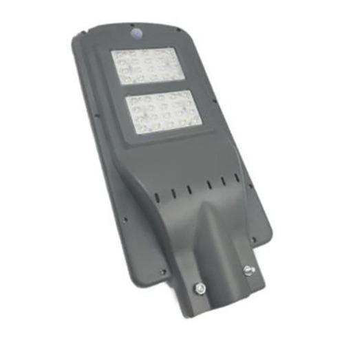 Luminária de Poste Led Quality Solar 60W Cinza com controle remoto