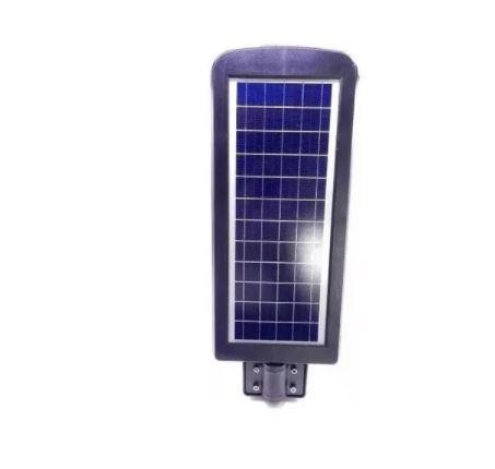 Luminária de Poste Led Quality Solar 60W Preta