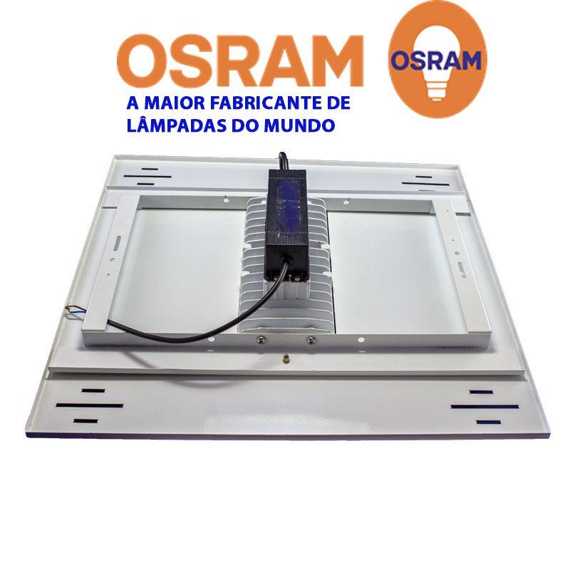 Luminária de Posto de Combustível 1 módulo 80W 9.000 Lumens Branco Frio N2 (Modelo 2019)