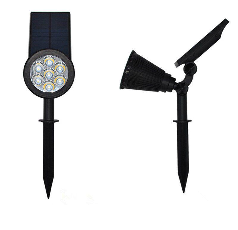 Luminária Espeto Branco quente de Led Jardim Solar Light Spot Outdoor 7w IP65