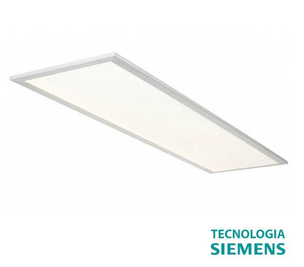 Luminária Led 36w Embutir 62cm x 32cm - Branco frio Tecnologia Siemens