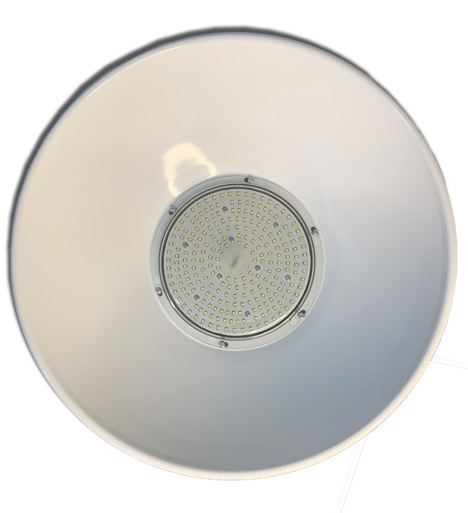 Luminária Led Industrial High bay 200w SMD Bivolt Branco Frio 6500K