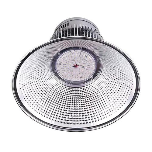 Luminária Led Industrial High Bay SMD 200W Branco Frio 6500K - Prata