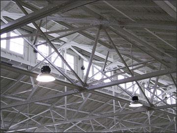Luminaria Led Industrial High bay SMD 150w Branco Frio 6500K