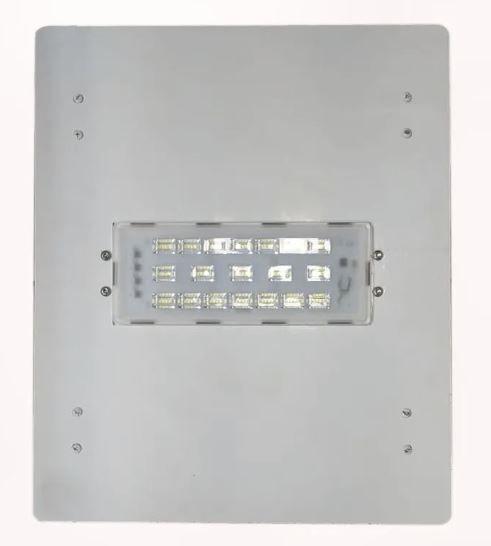 Luminária Led Postos De Gasolina/ Galpões 1 Modulo 50w 220v Alum.