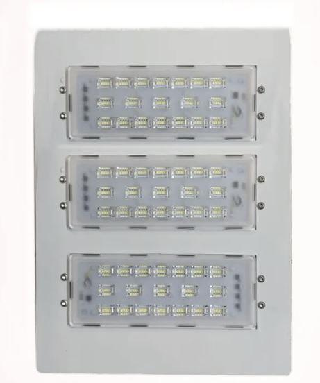 Luminária Led Postos De Gasolina/ Galpões 3 Modulos 150w 220v Alum.