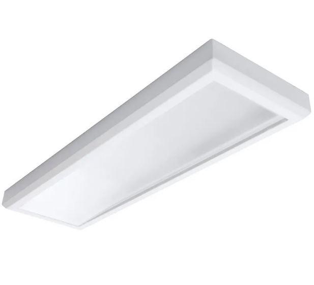 Luminária Plafon 30x120 48w Led Sobrepor Branco Frio Tecnologia Siemens