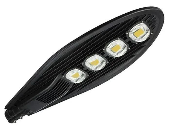 Luminária Pública de Led Para Poste de Rua 200W Branco Frio IP68 (Chip Tecnológico) - GOLD