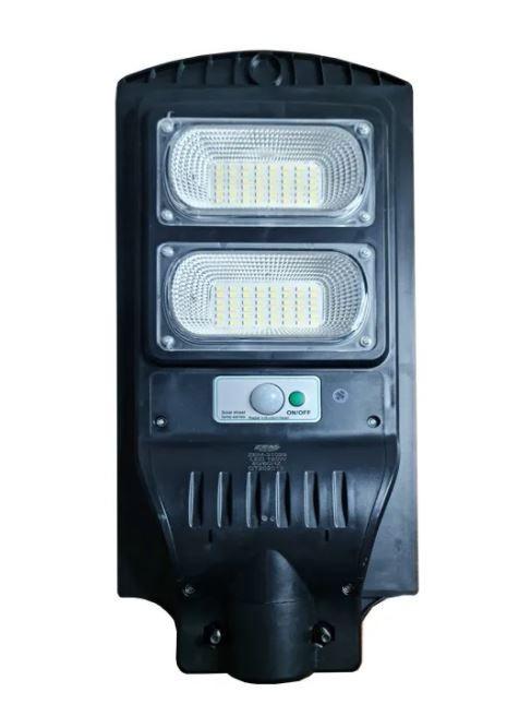Luminária Pública (GOLD) Poste Solar Led 120w Com Sensor Number One