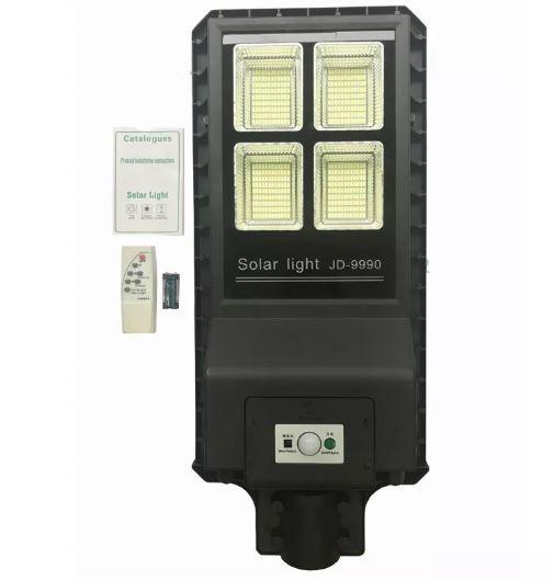 Luminária Pública (GOLD) Poste Solar Led 90w Com Sensor Number One