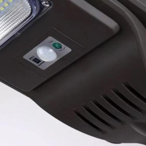Luminária Pública Poste Energia Solar 240W com Sensor  e Controle Remoto