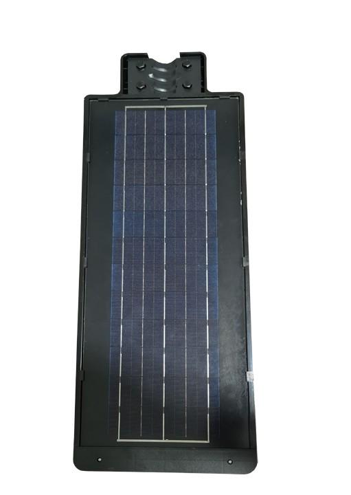 Luminária Publica Poste (GOLD) Energia Solar 200w Sensor Controle