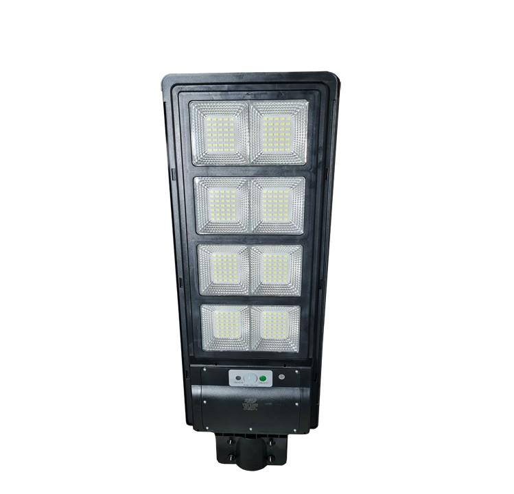 Luminária Publica Poste (GOLD) Energia Solar 250w Sensor Controle