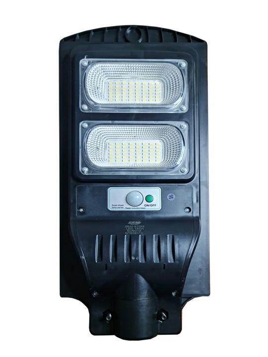 Luminária Pública Poste Solar Led 120w Com Sensor Number One