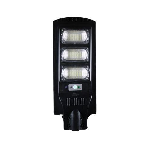 Luminária Pública Poste Solar Led 180W Com Sensor e Controle Remoto - Jortan