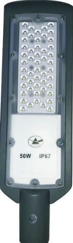 Luminária Pública Smd Led 50w Branco Frio branco frio IP67 6500k (Tecnologia Alemã)