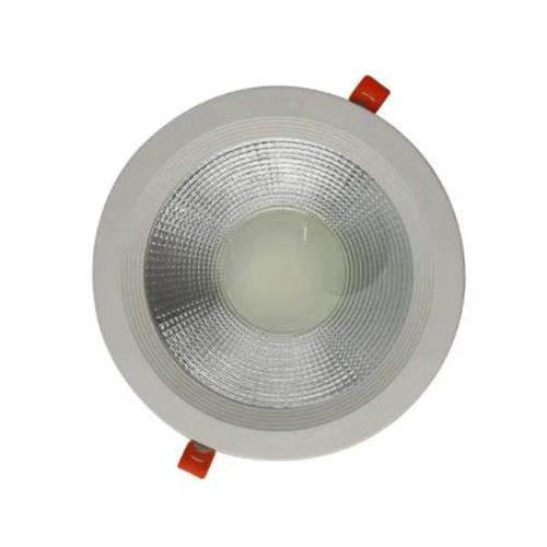 Luminária Spot Led Down Light Cob 40W Redondo Branco Frio 6500k