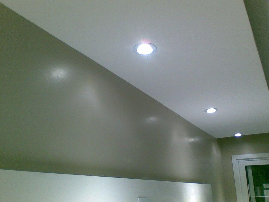 Luminária Spot Led Cob 40w Redondo Branco Frio 6500k