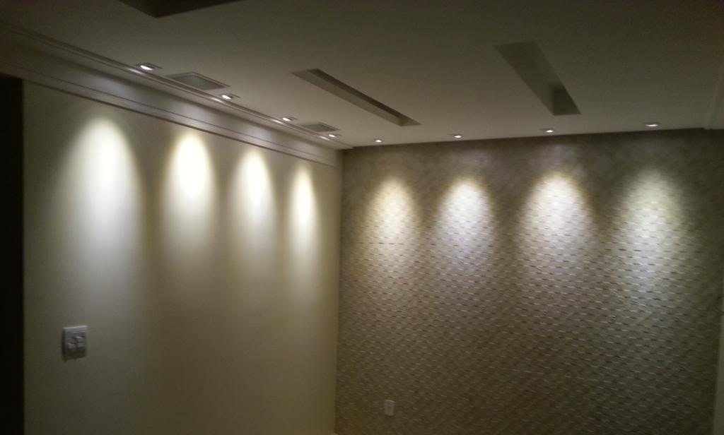 Luminária Spot Led Embutir Redondo 5w Branco Quente