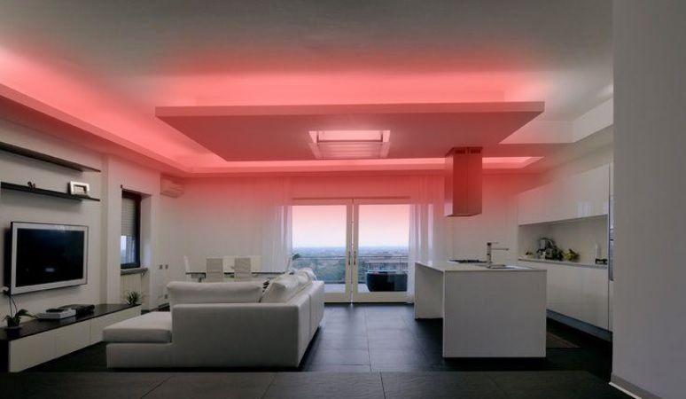 Mangueira Chata 120w / Bi-Volt Ultra Intensidade A prova d'água LED Vermelha Rolo 100m