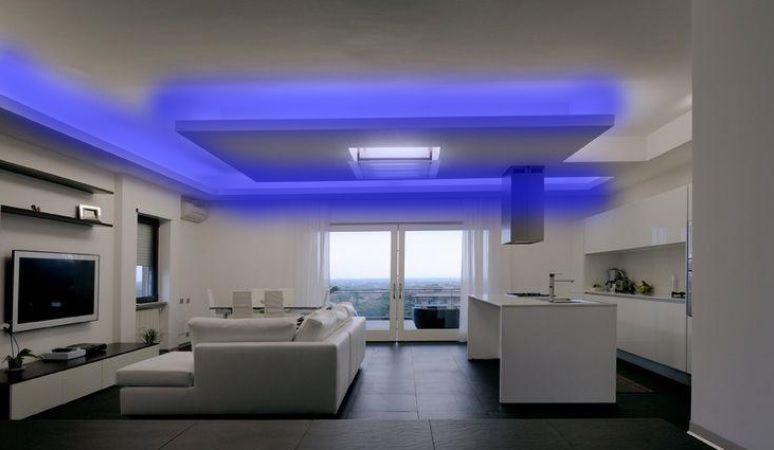 Mangueira Chata 80w / Bi-Volt Ultra Intensidade A prova d'água LED Azul Rolo 100m