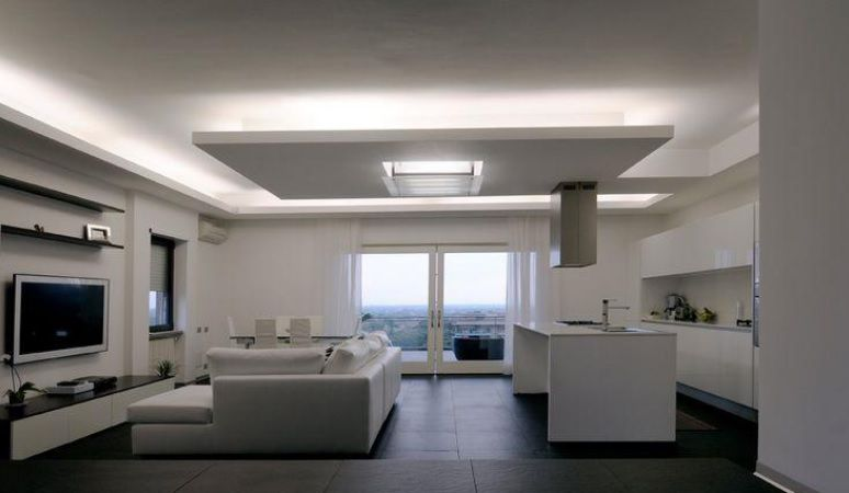 Mangueira Chata 80w / Bi-Volt Ultra Intensidade A prova d'água LED Branco Frio Rolo 100m