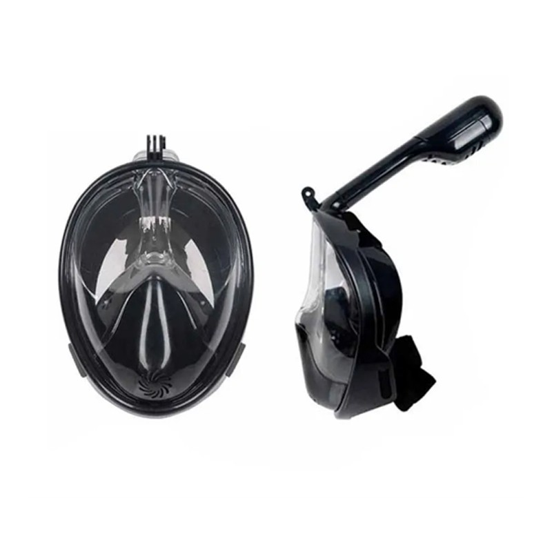 Máscara Mergulho (GOLD) Full Face Modelo Premium Snorkeling