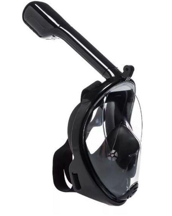 Máscara Mergulho Livre Snorkeling com suporte para Gopro