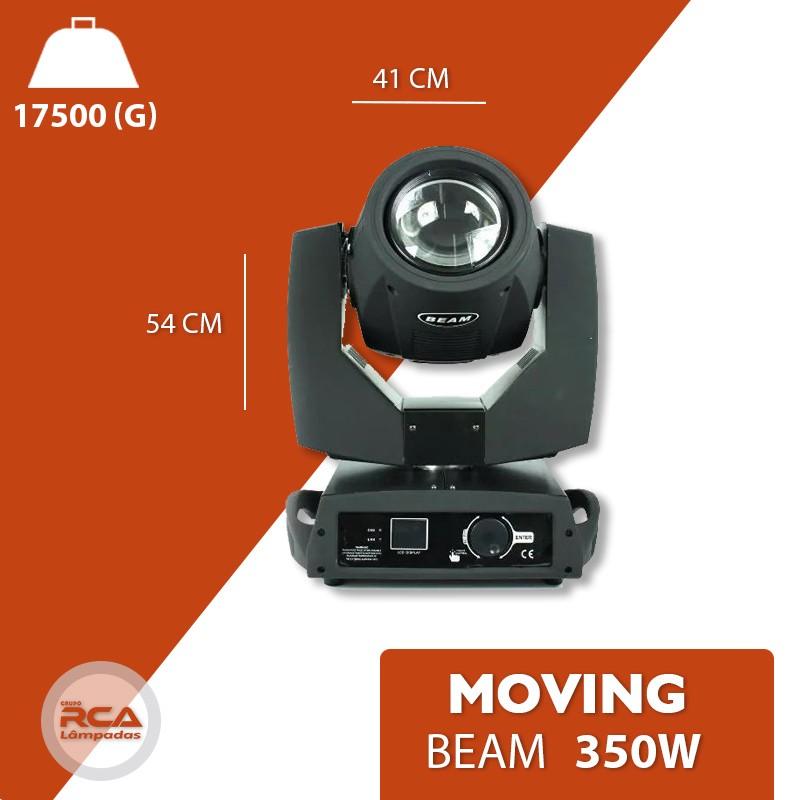 Moving Beam 350w Lâmpada Philips 15r Iluminação Profissional Dj Dmx Prolight